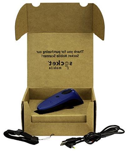 SocketScan S740, 2D Scanner, Blue