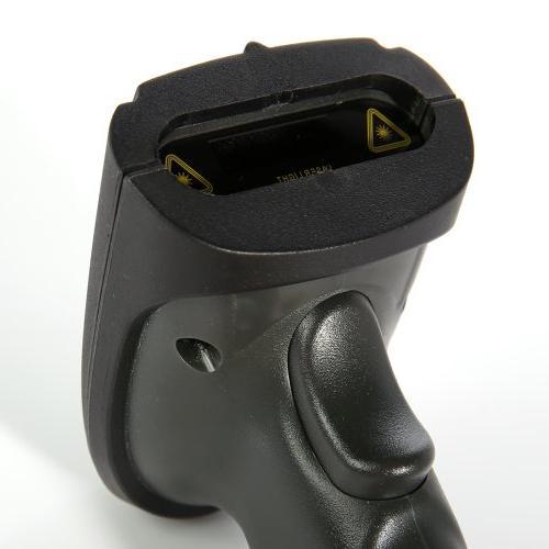 2.4G High Speed Laser USB Barcode Scan Gun Label Reader POS
