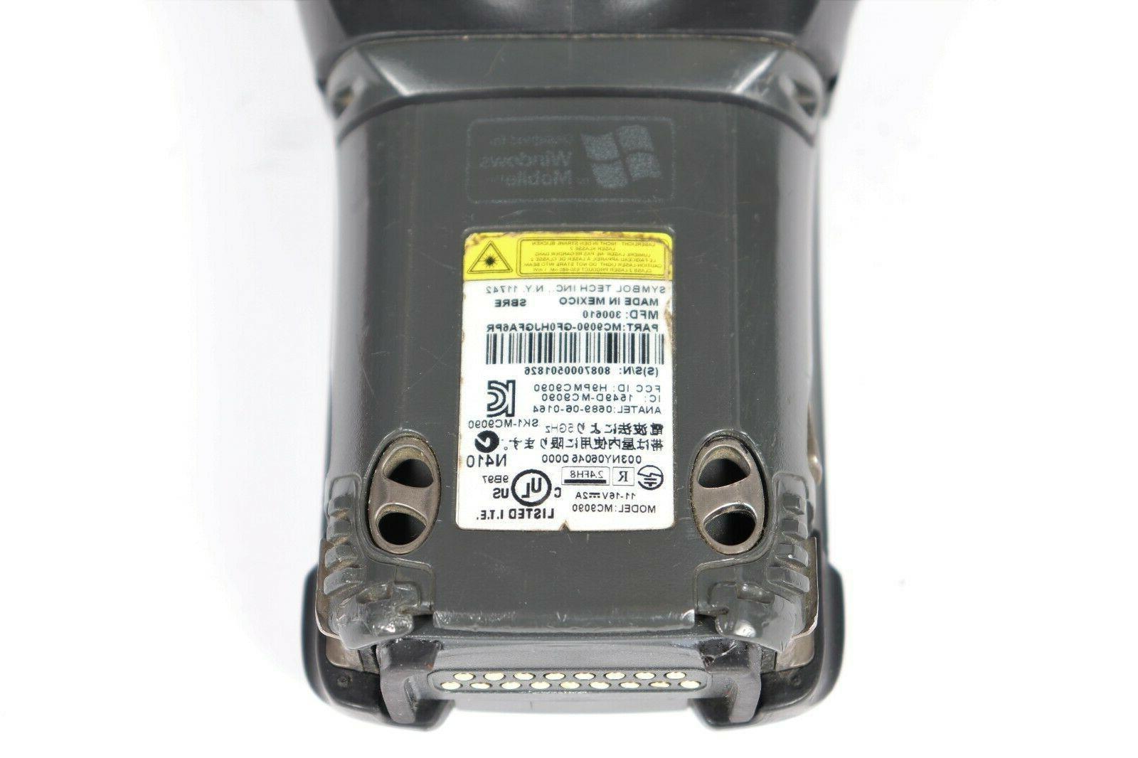Mobile Laser Barcode Scanner w/
