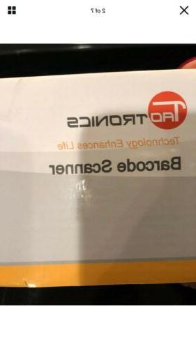 TaoTronics 2.4G Barcode Code Scanner Reader TT-BS012
