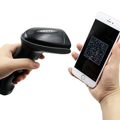 TEEMI 2D Wireless Scanner with for iPad Android Devices and Tablets, Support QR, PDF417, Read