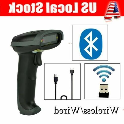 us wireless wired handheld scanner bluetooth barcode