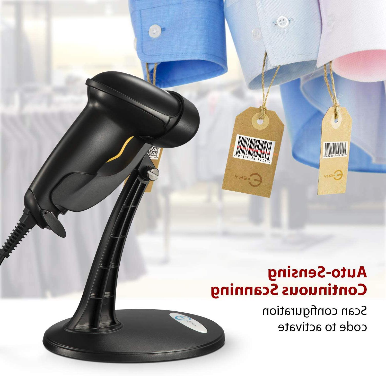 Usb Automatic Barcode With Hands Stand