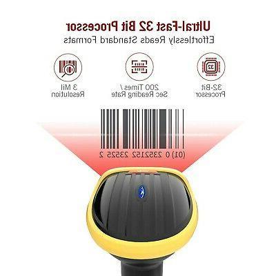 TaoTronics Scanner, Handheld 1D Scanner, Fas...
