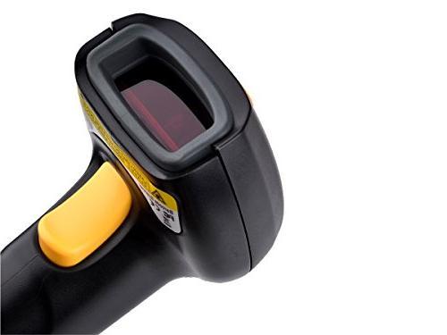 TaoTronics Scanner, Handheld Wired 1D Laser Scanner with Adjustable Fast Precise System