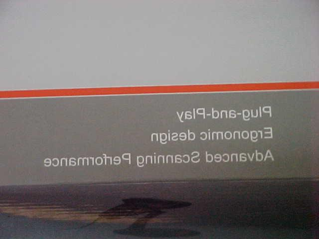 TaoTronics Scanner Wired Handheld Code