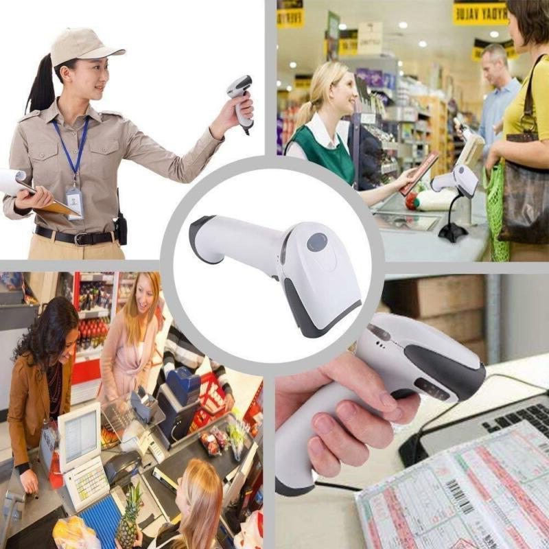 BEVA Sacnner Code Automatic Wired Handheld White