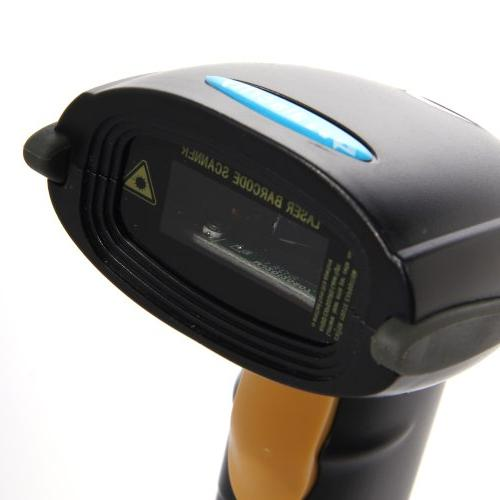 USB Laser Scanner Reader Black
