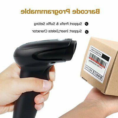 USB Handheld Barcode Reader (2.4GHz