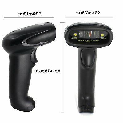 USB Wireless Handheld Barcode Reader (2.4GHz