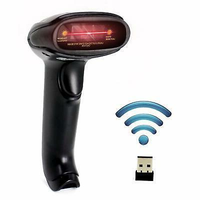 usb wireless barcode scanner handheld laser barcode