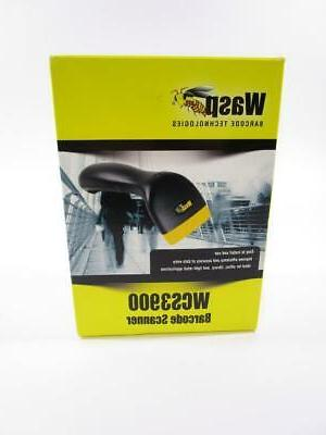 Wasp WCS3905 Waspnest ABS CCD Handheld Laser Barcode Scanner