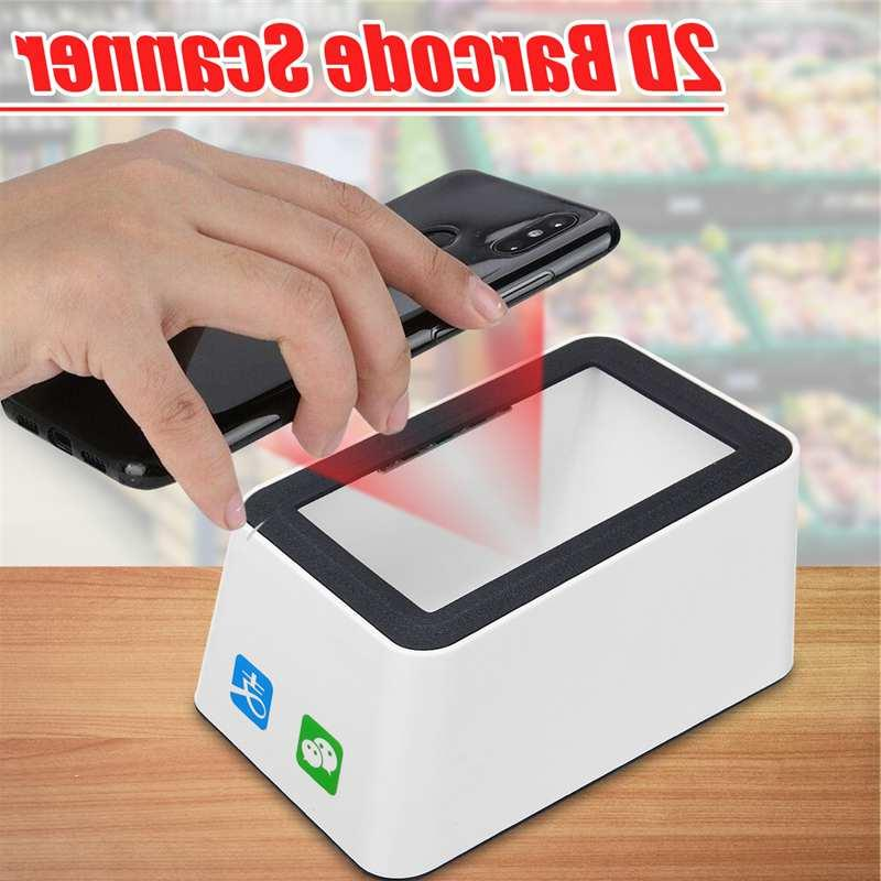 Wired <font><b>Barcode</b></font> <font><b>Scanner</b></font> Versatile QR Code 1D&<font><b>2D</b></font> Code Reader Supermarkets