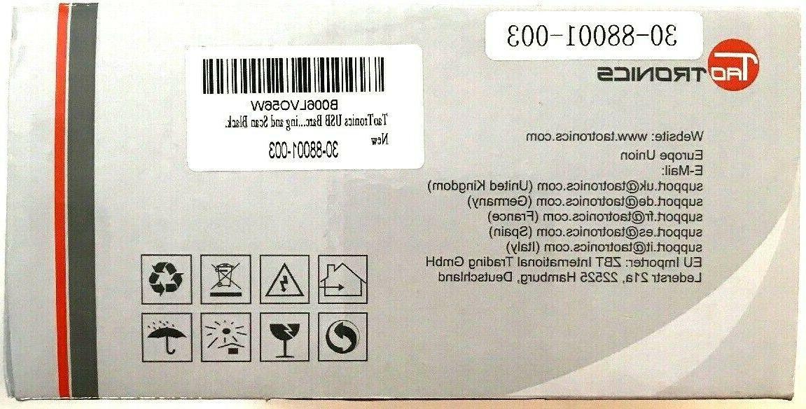 TaoTronics Wired USB In Box Black