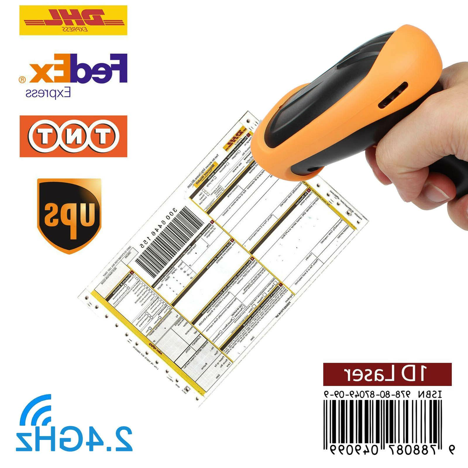 wireless 2 4ghz laser barcode bar code