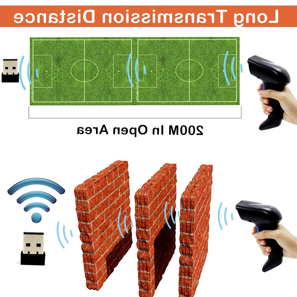 Wireless Reader Symcode Handheld 200meter