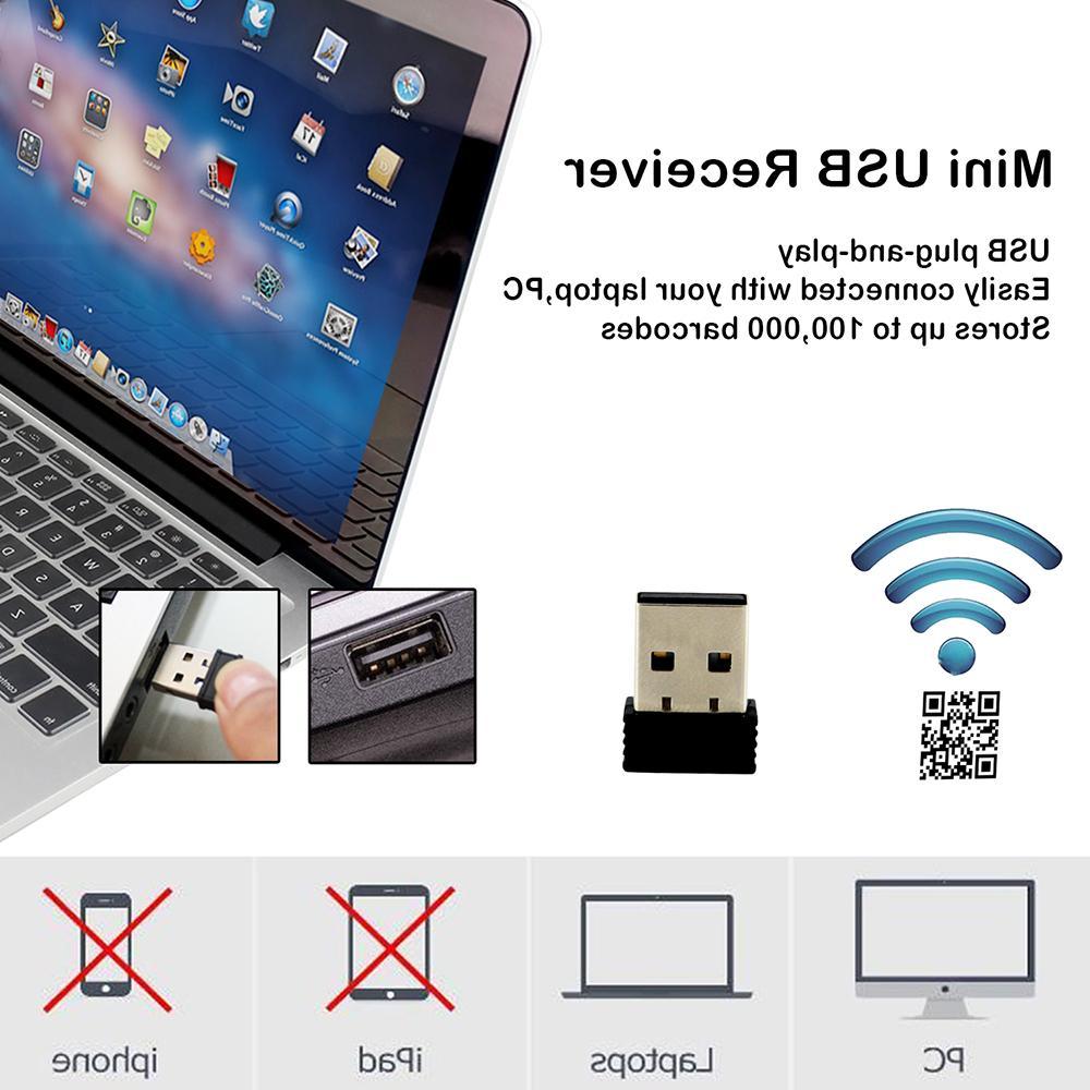 Wireless Symcode 2D 2.4GHz Handheld 200meter