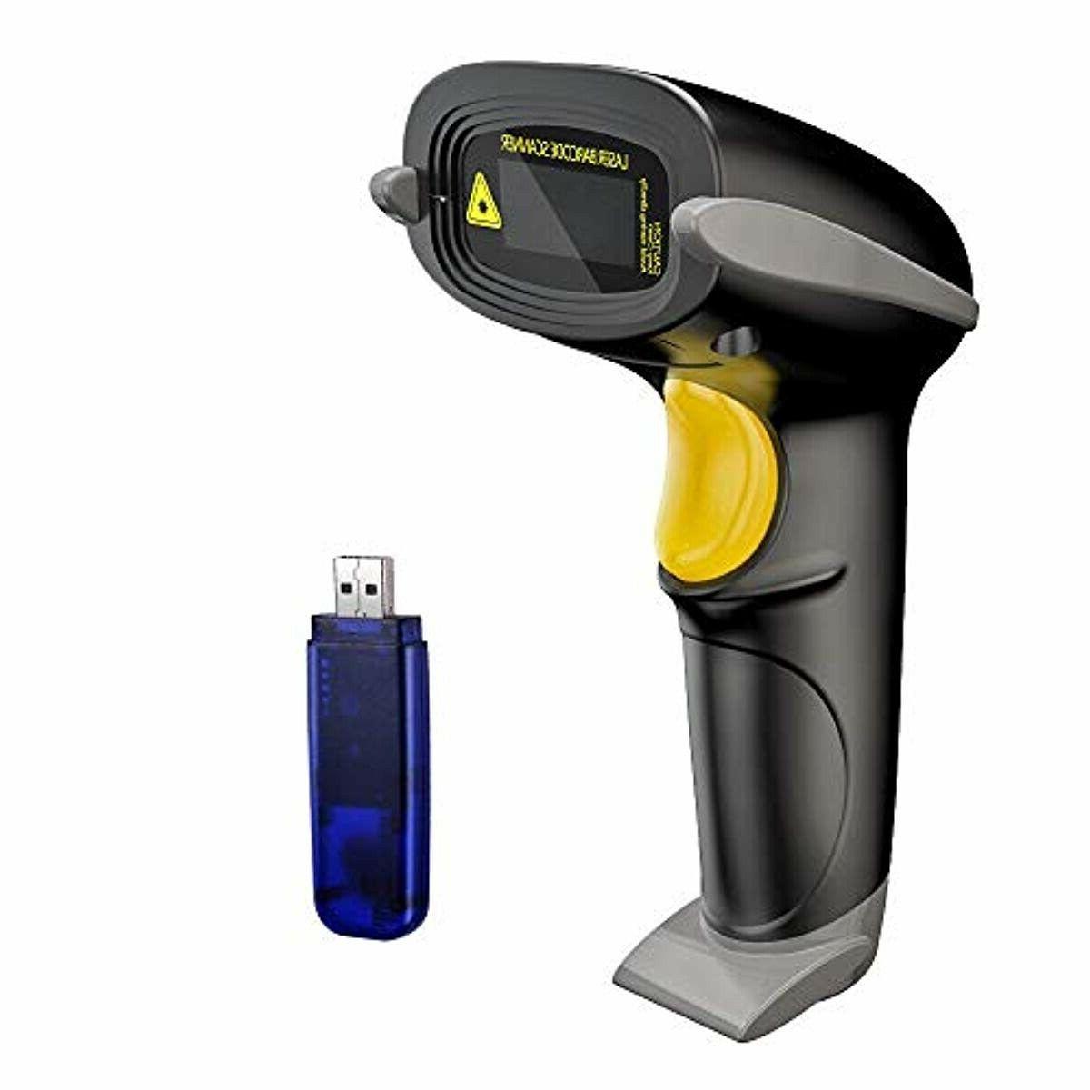 wireless barcode scanner 328 feet transmission distance