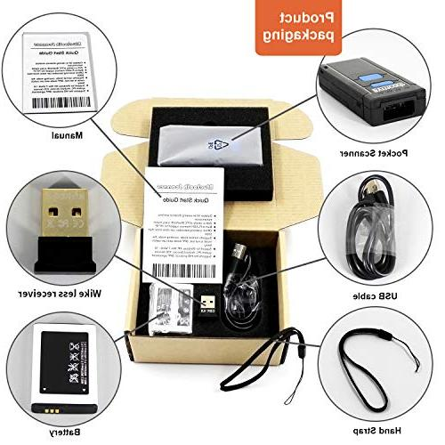 Wireless Portable CCD Barcode
