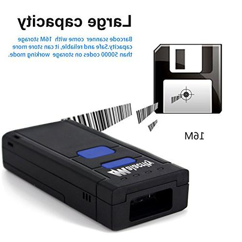 Alacrity 1D Barcode Reader Android, and with Phones, or Computers