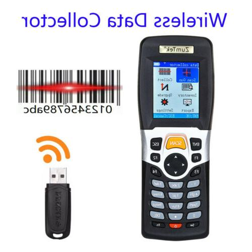 wireless barcode scanner and collector data terminal