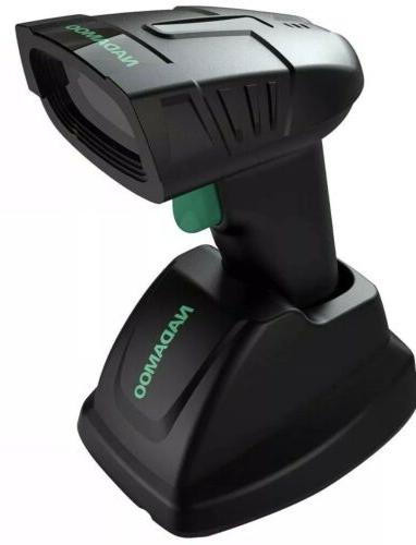 wireless barcode scanner with charging base station
