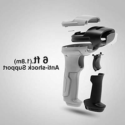 Wireless Barcode Scanner, Working Time Approx. 35m Range,