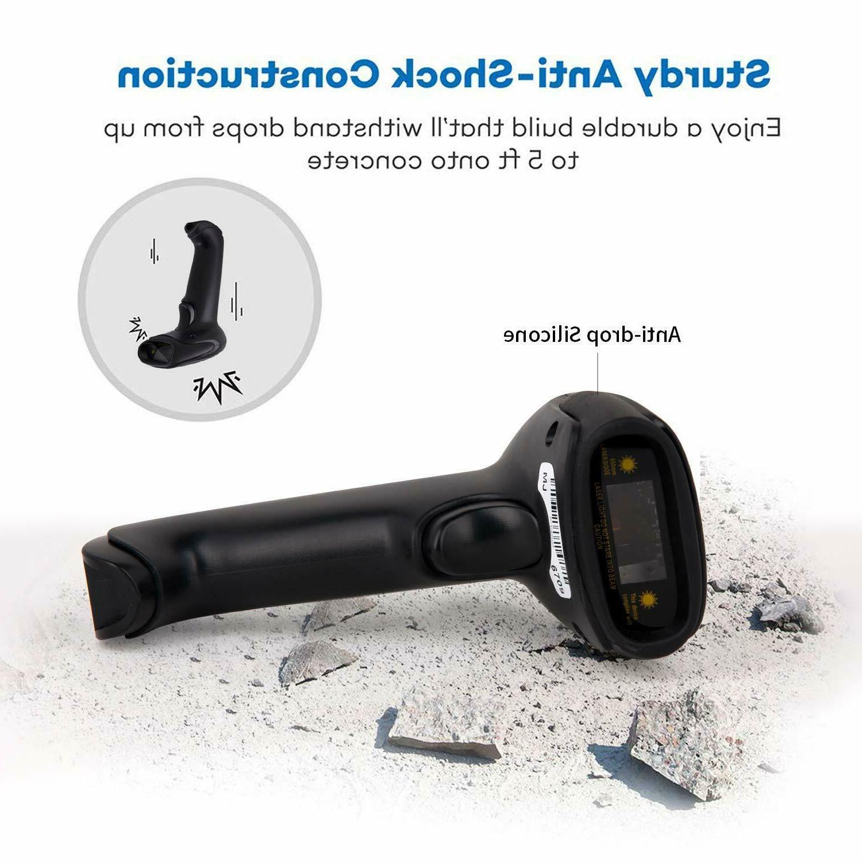Wireless Bluetooth Scanner USB Receiver Laser