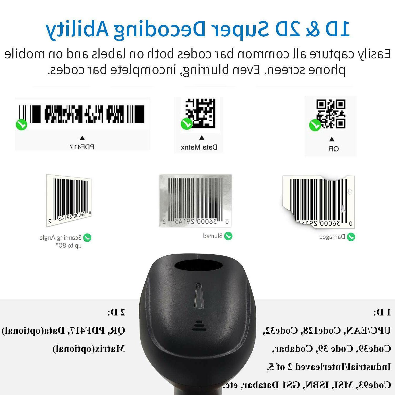 2.4Ghz Barcode USB 1D