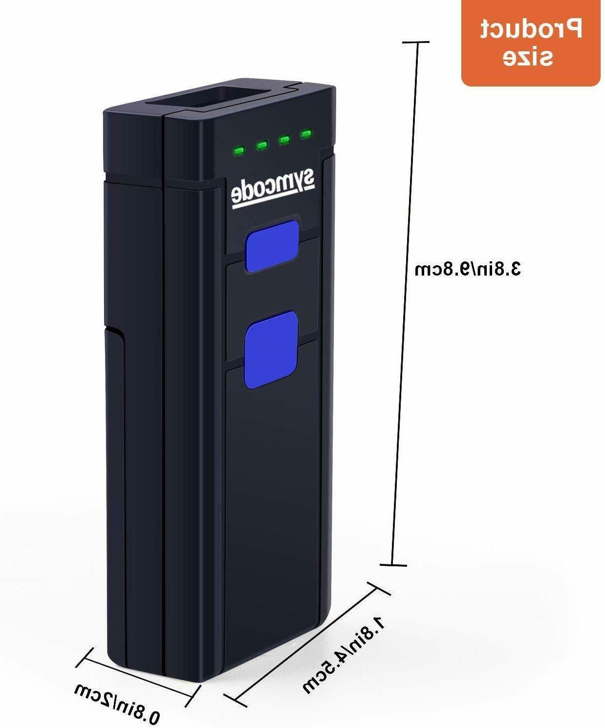 Wireless Bluetooth Scanner,Symcode Mini Portable Scanner