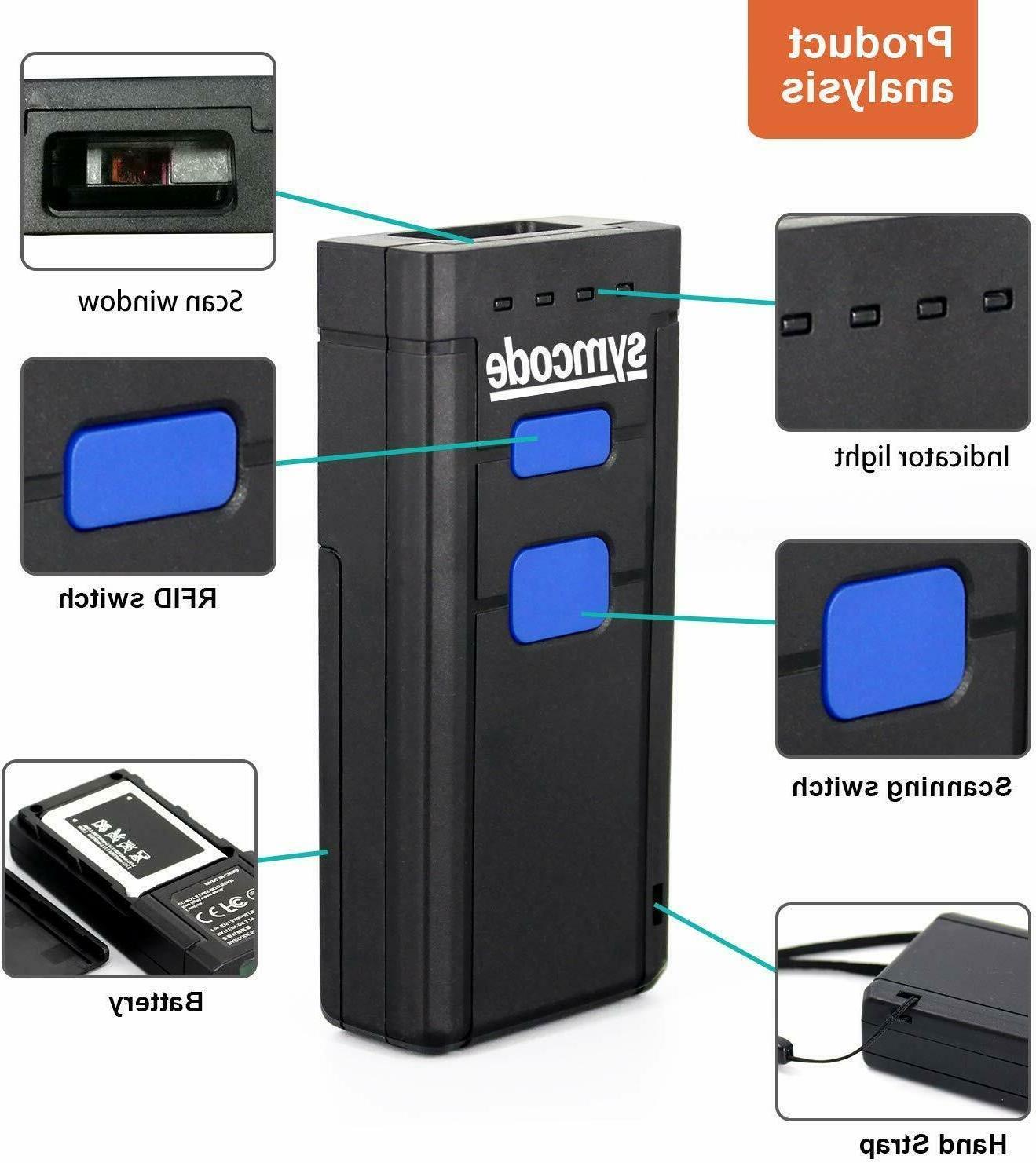Wireless Barcode Mini Portable Reader Scanner
