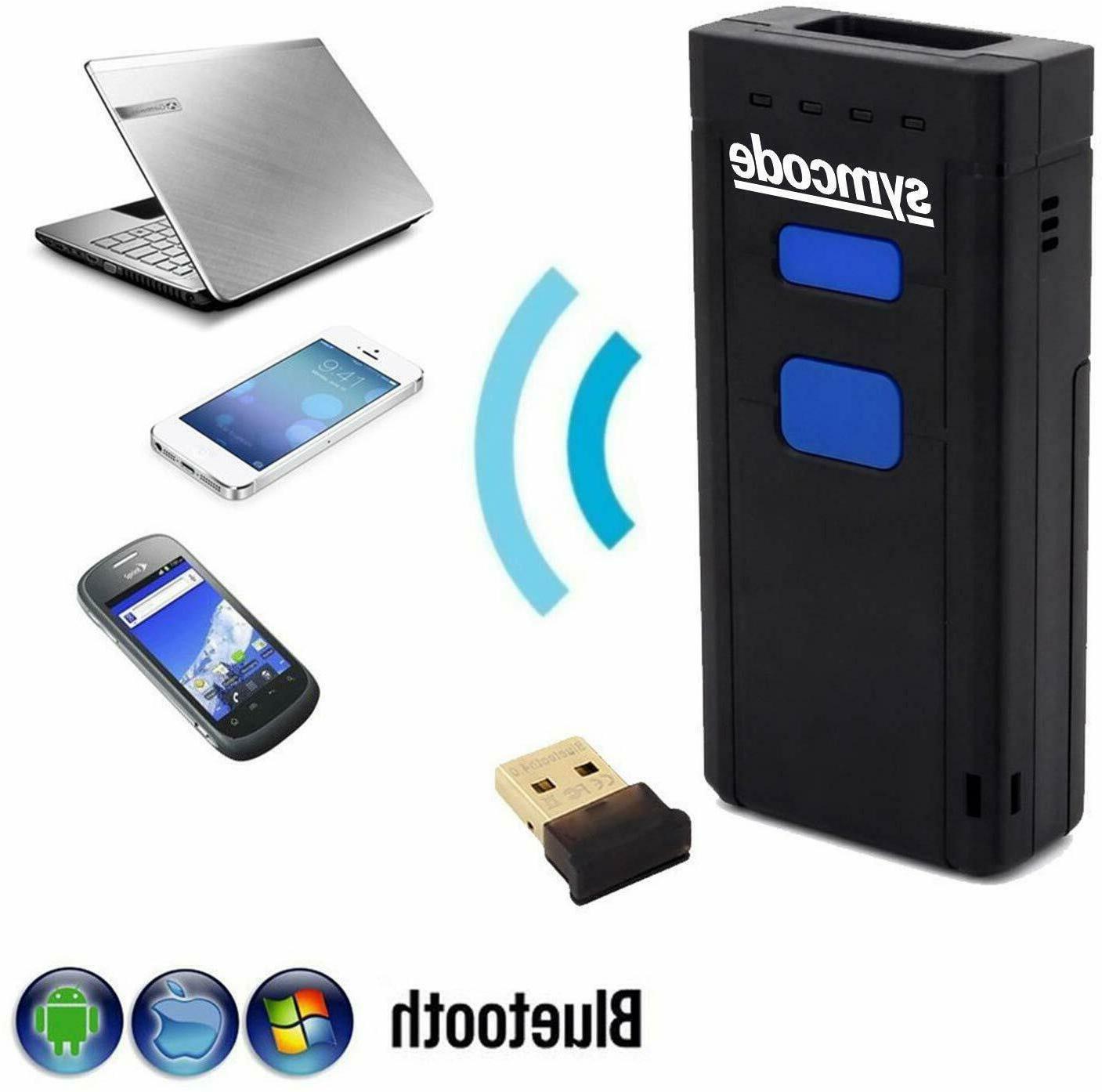 wireless bluetooth barcode scanner mini portable barcode