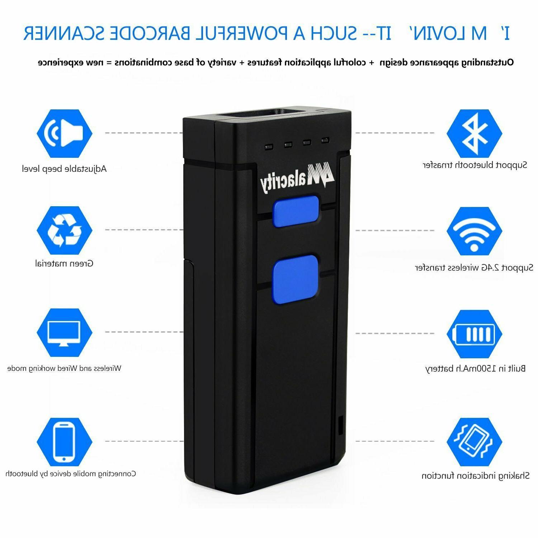 Wireless Bluetooth Laser Scanner Portable Scanner