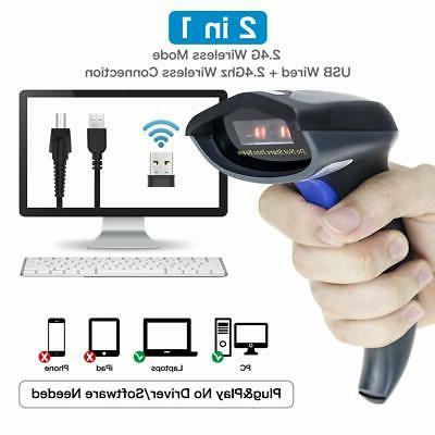 NETUM Wireless CCD Scanner 1D Bar 2.4G W