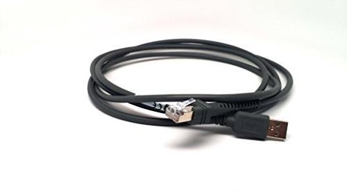 Zebra/Motorola Symbol 1D9208 Omnidirectional Barcode Scanner Cable