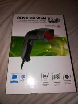 laser barcode scanner usb nuscan 3200u 80
