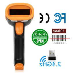 Quick Speed Wireless Bluetooth 2.4G Barcode Scanner Handheld