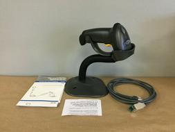 Motorola LS2208-7AZU0300SR Barcode Scanner Kit - Black