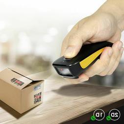 Mini Barcode Scanner 2D Bluetooth Wireless Pocket QR Reader