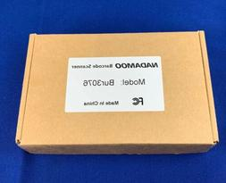 NADAMOO Mini Wireless Barcode Scanner,Compatible with Blueto