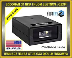 SYMCODE MJ-2090 CCD USB AUTO LASER 1D BARCODE SCANNER READER