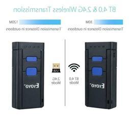 MJ-2877 Eyoyo Portable Wireless Bluetooth Barcode Laser Scan