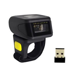 Alacrity Portable 2D Barcode Scanner,Wearable Ring Wireless