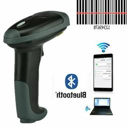 New 2.4G USB Wireless Handheld Visible laser Barcode Bar Cod