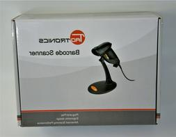 NEW IN ORIGINAL BOX TaoTronics USB Barcode Scanner With Stan