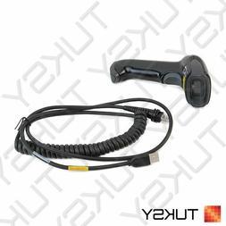 NEW Honeywell Voyager 1250G USB Handheld Barcode Scanner Kit