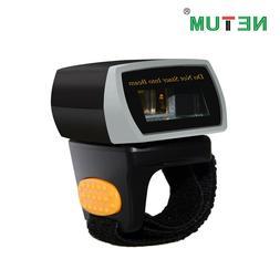 NETUM NT-R2 Portable Bluetooth Ring 2D Barcode Scanner QR Co