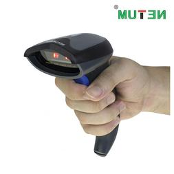 NETUM NT-W6 2.4G Wireless Handheld CCD Barcode Scanner & Min