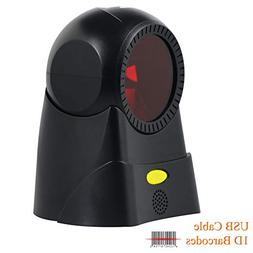 Omnidirectional 1D Barcode Scanner Auto Scanning 100 Lines F