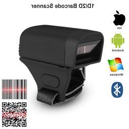 Pocket Wireless Bluetooth Finger Wearable Ring 2D QR <font><